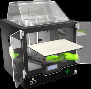 Stampanti 3D - ZYYX+. Completamente automatica