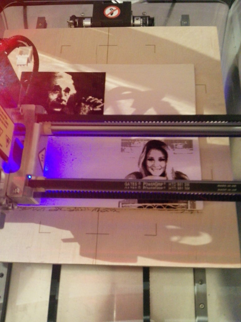 Laser in elaborazione. Incisioni laser su legno