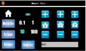 Stampante 3D Kentsrapper ZERO - interfaccia siaren 2.0