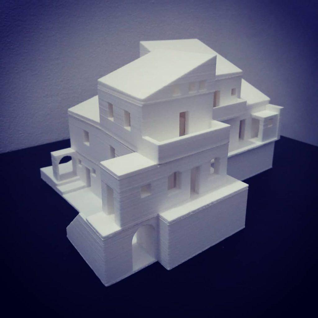 Modellazione e stampa 3D edificio storico