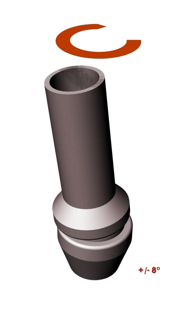 Torretta protesica basculante (brevettata)